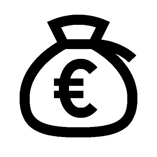 money bag euro 512